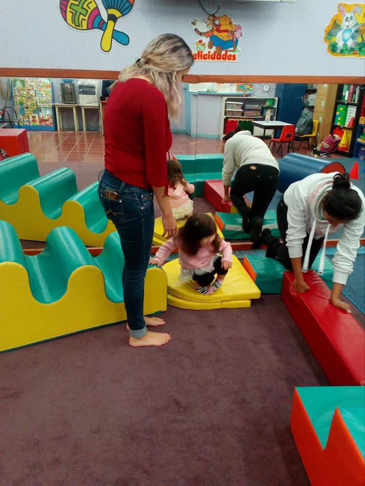 Actividades del curso de estimulación temprana