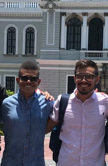 Carlos Alberto Ortega a la izquierda y Luis Alonso Ramos a la derecha