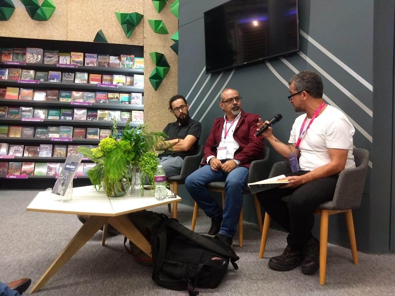 De izquierda a derecha:  Alejandro Von Düben, Ricardo Sigala y Ángel Ortuño