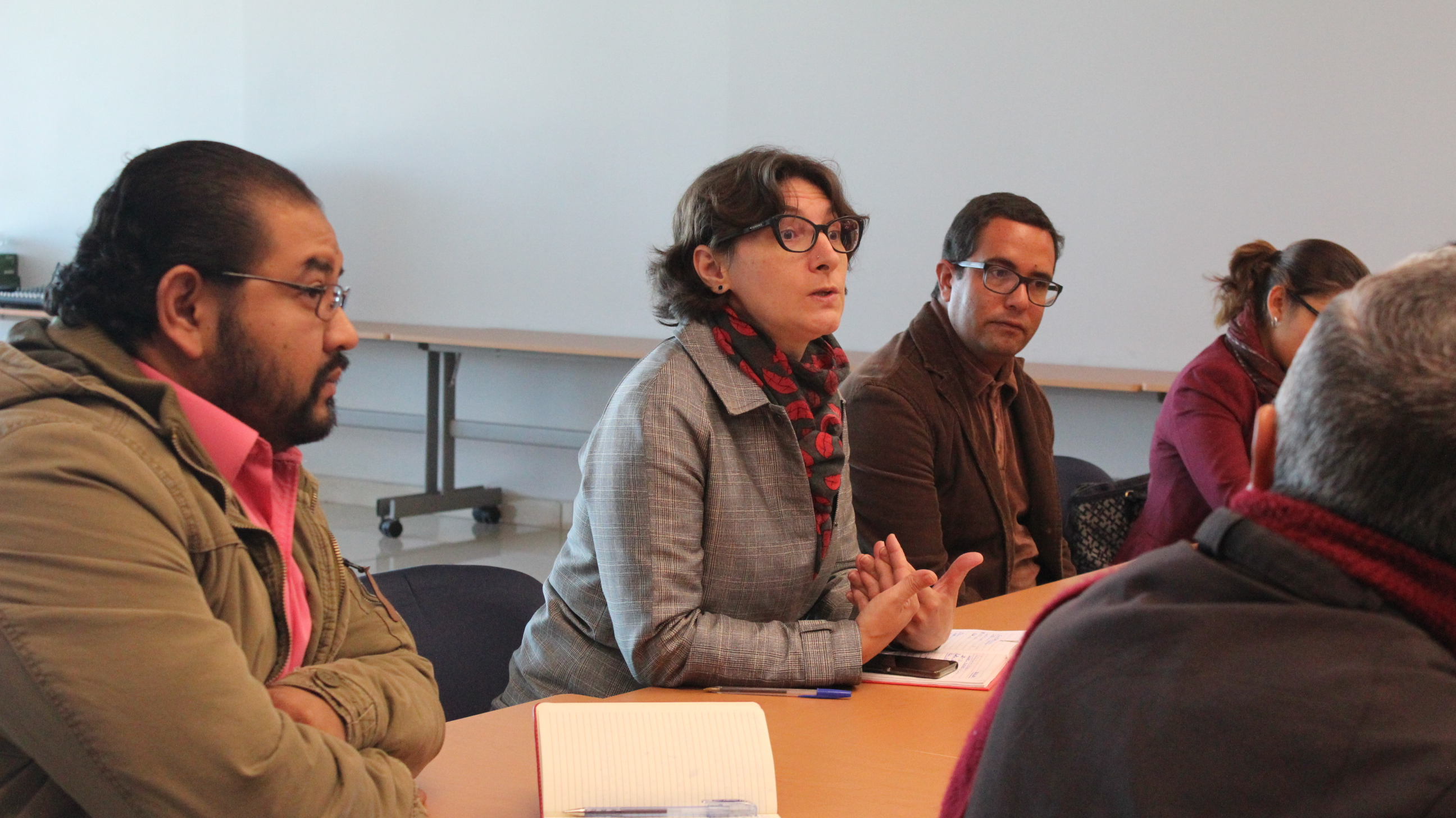 Participación de la doctora Rebeca García, secretaria académica del CULagos
