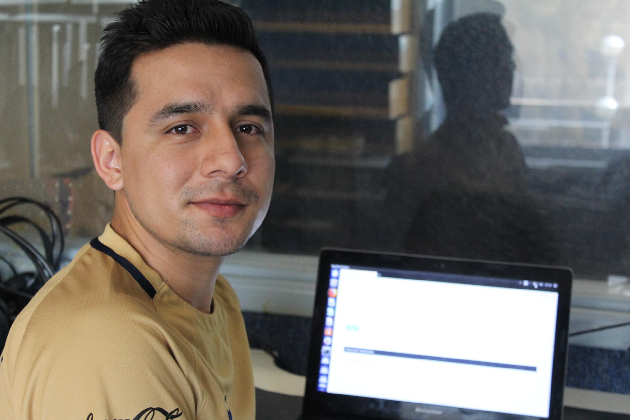 Miguel Soriano nos muestra el traductor que desarrolló