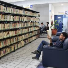 Acervo de la biblioteca del CULagos