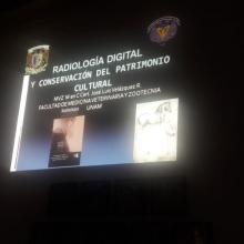 Exposición sobre el trabajo que se realiza desde la radiología para la conservación del patrimonio cultural