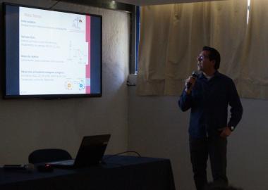 Juan Manuel Salgado explica los pormenores de su trabajo