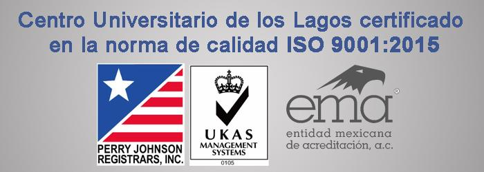 Banner de Certificación ISO 900:2015