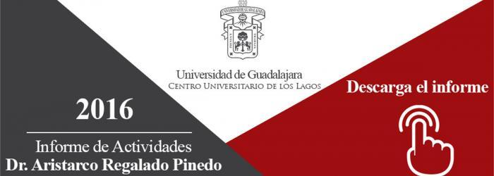 Banner Link para Descargar del informe 2016 del Rector Dr. Aristarco Regalado Pinedo