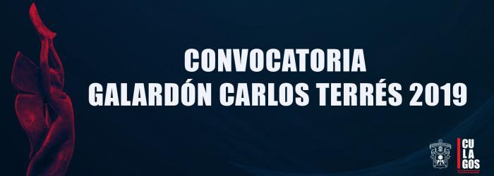Convocatoria Carlos Terres 2019