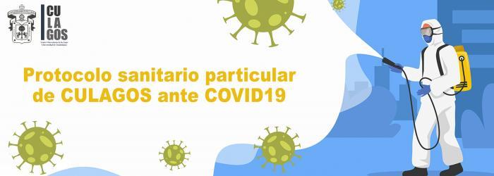 Banner Protocolo sanitario particular de CULAGOS ante COVID19