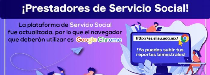 Banner Plataforma de servicio social actualizada