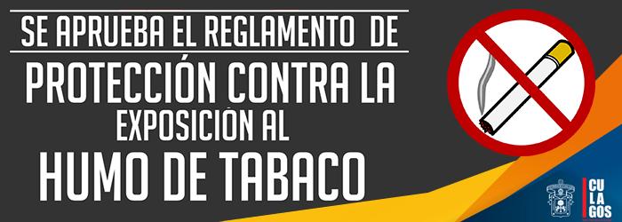 Se aprueba el reglamento de protección contra la exposición al humo del tabaco