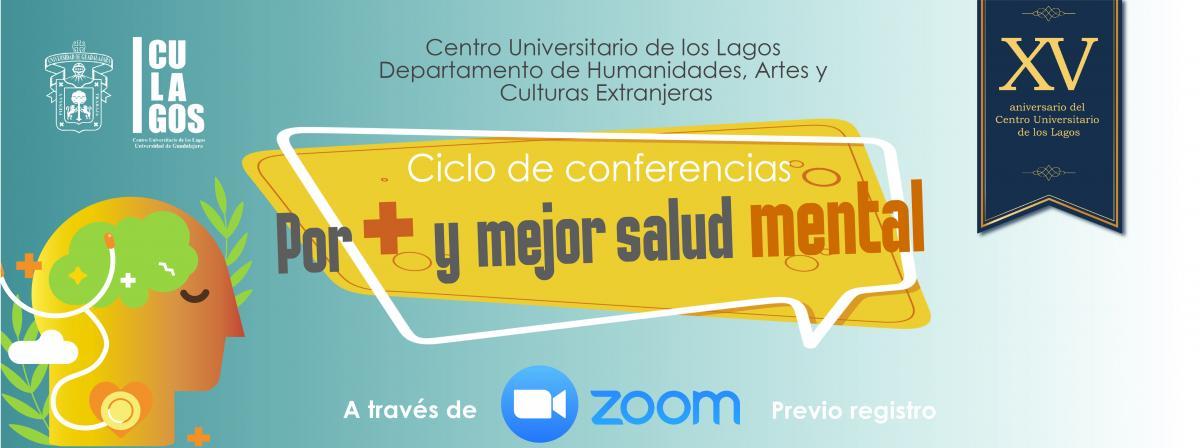 Ciclo de conferencias Por más y mejor salud mental