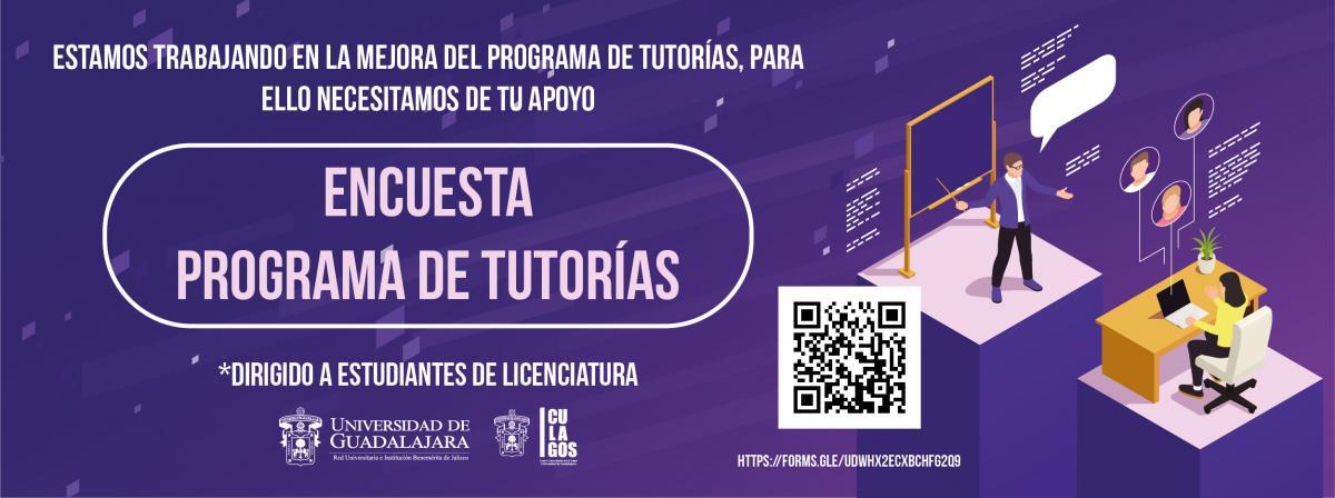 Banner Encuesta programa de tutorías