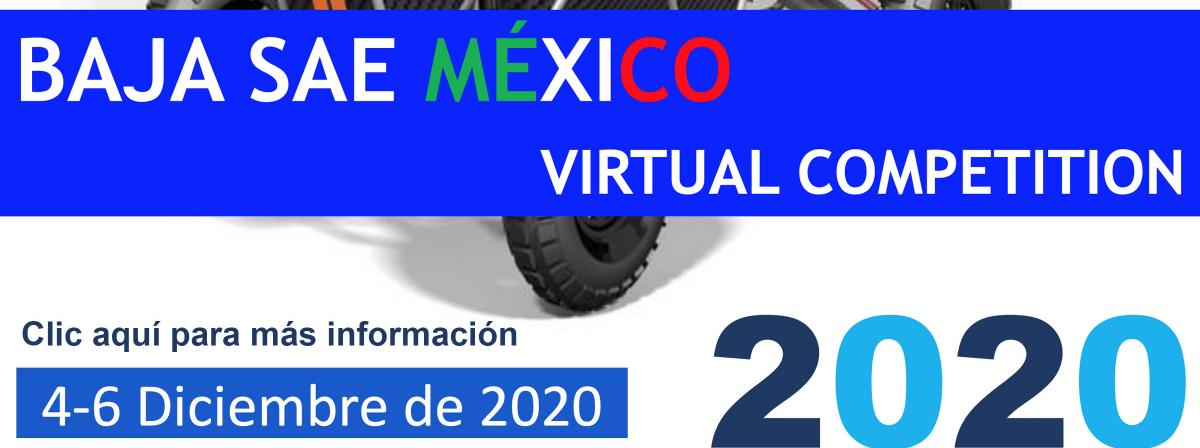 Banner Baja SAE México 2020