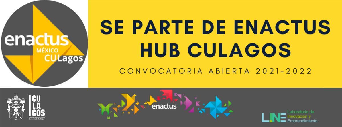 Banner Convocatoria Enactus Hub CULagos