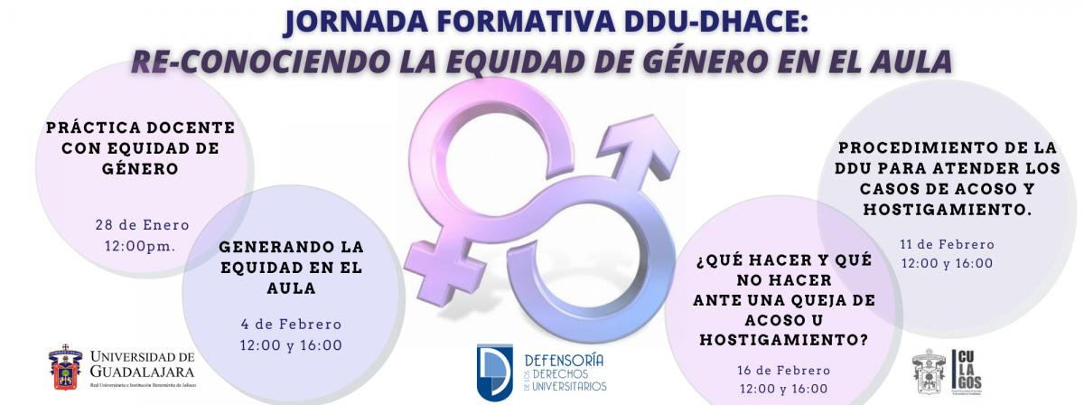 Banner RE-CONOCIENDO LA EQUIDAD DE GÉNERO EN EL AULA