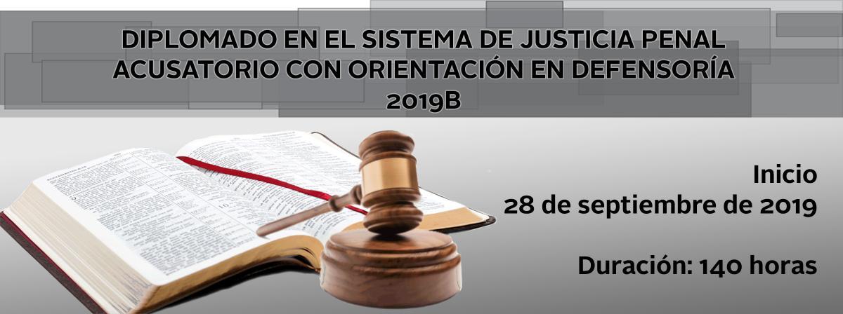 Diplomado en el Sistema de Justicia Penal