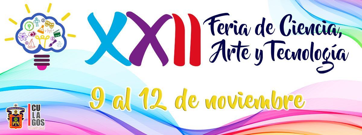 Banner XXII Feria de Ciencias, arte y tecnología