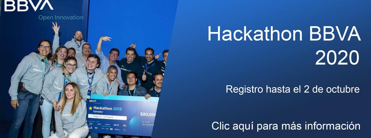 Banner Hackathon BBVA 2020