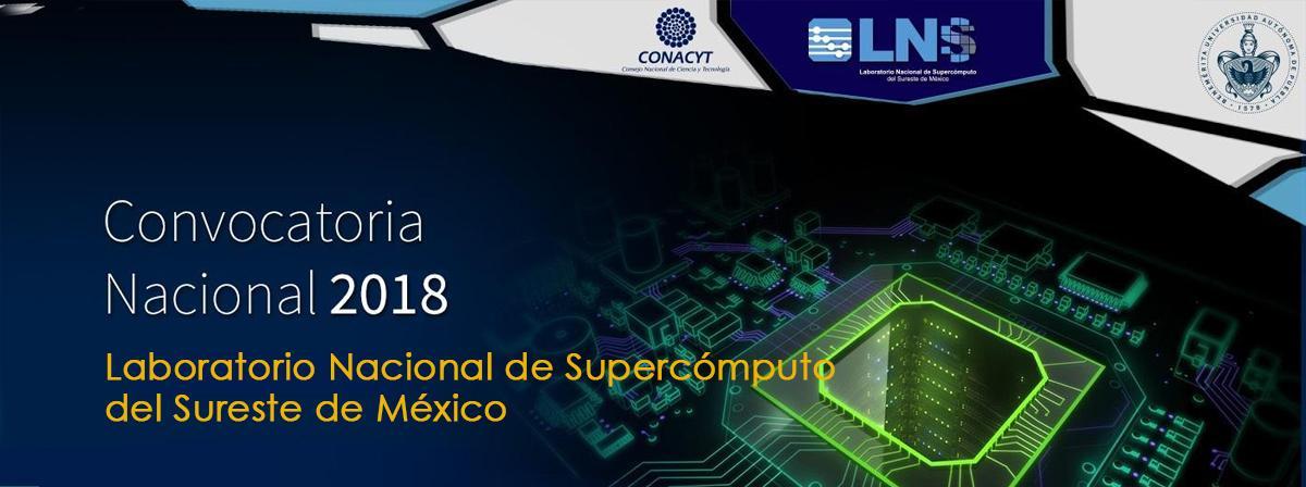 Banner Laboratorio Nacional de Supercómputo del Sureste de México