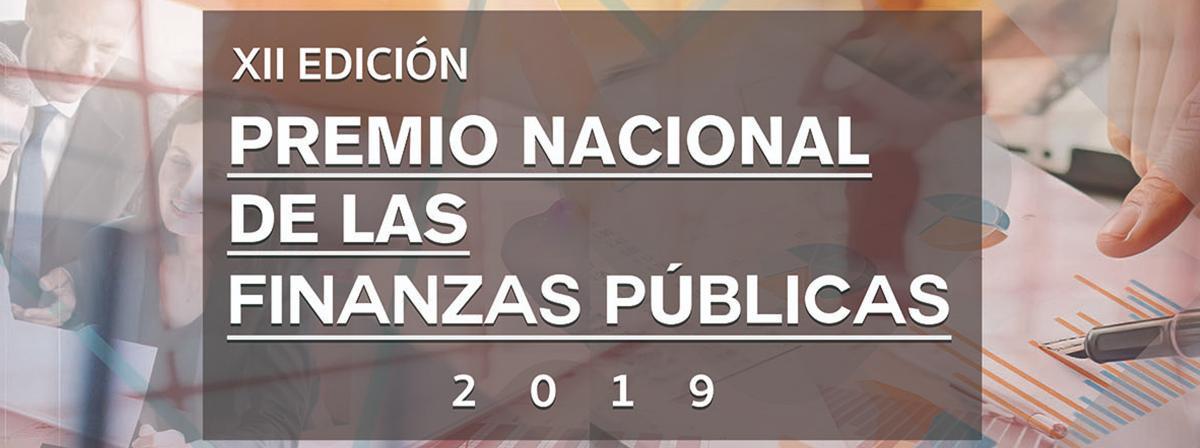 XII edición Premio nacional de las finanzas publicas 2019