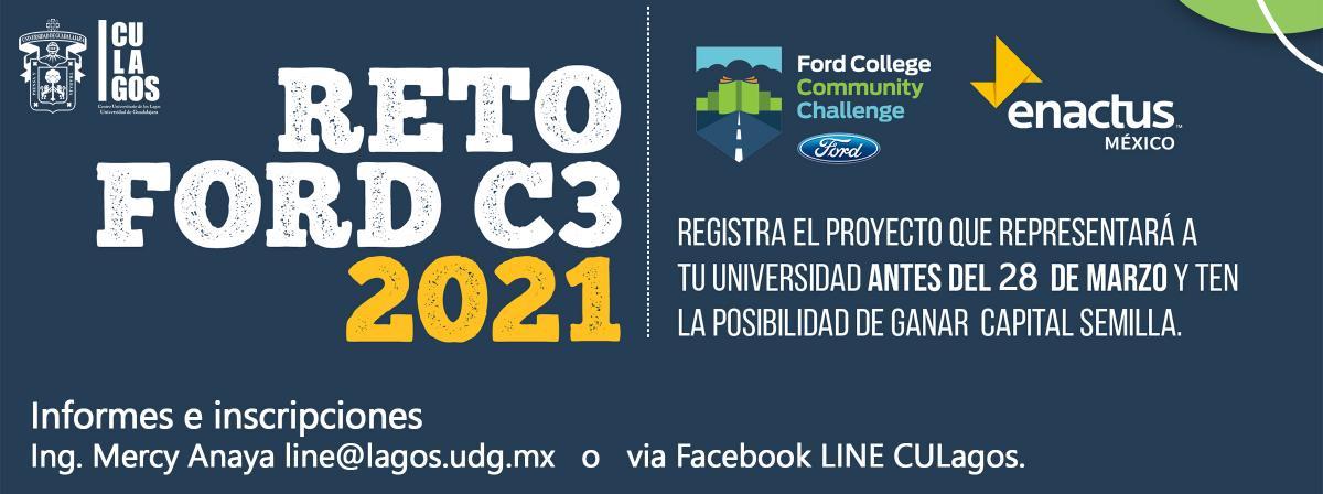 Banner Reto Ford C3 2021