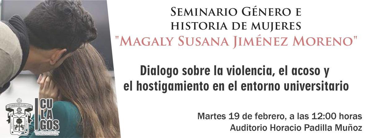 Dialogo sobre la violencia, el acoso y el hostigamiento en el entorno universitario