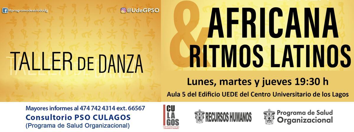 Taller de Danza Africana y Ritmos Latinos