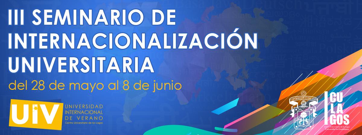 III Seminario de Internacionalización Universitaria