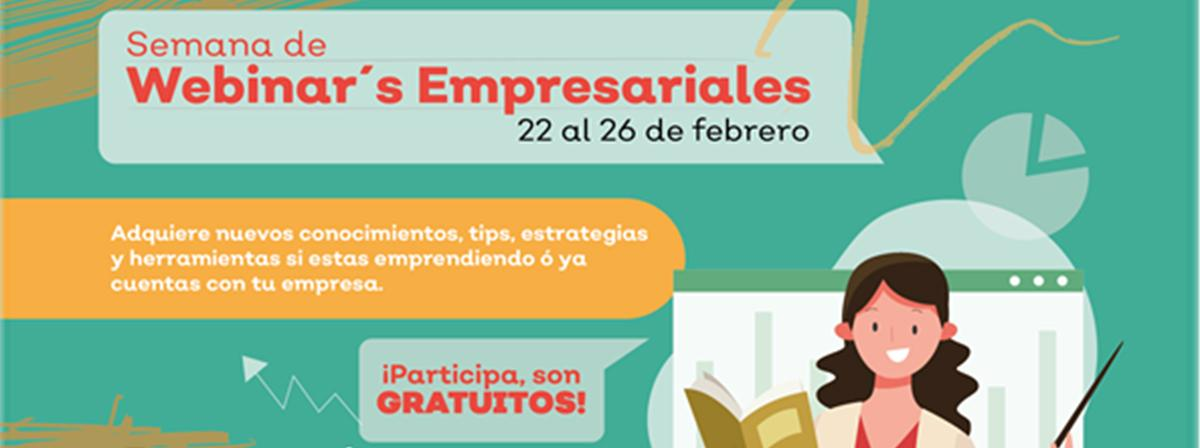 Banner Webinar's Empresariales