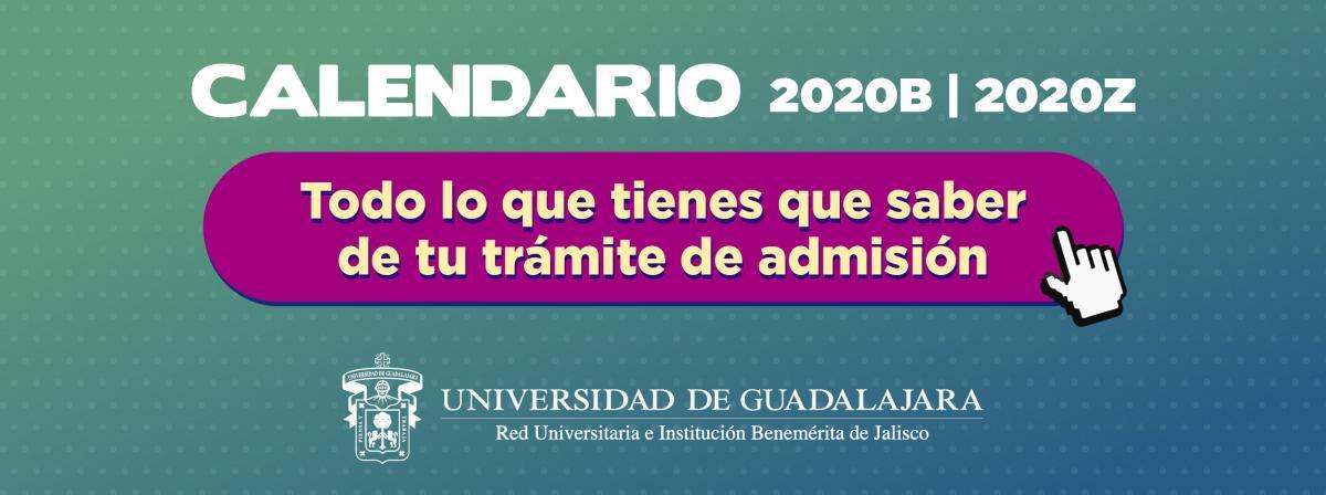 Trámite de admisión 2020B