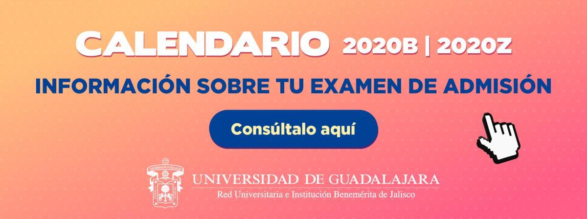 Examen de admisión 2020B