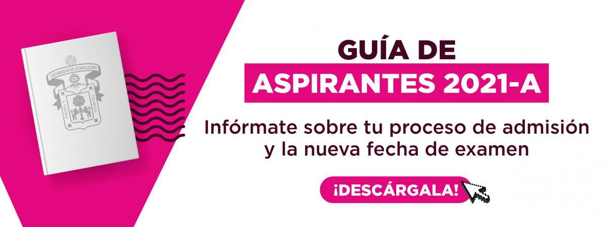 Banner Guía aspirantes 2021-A
