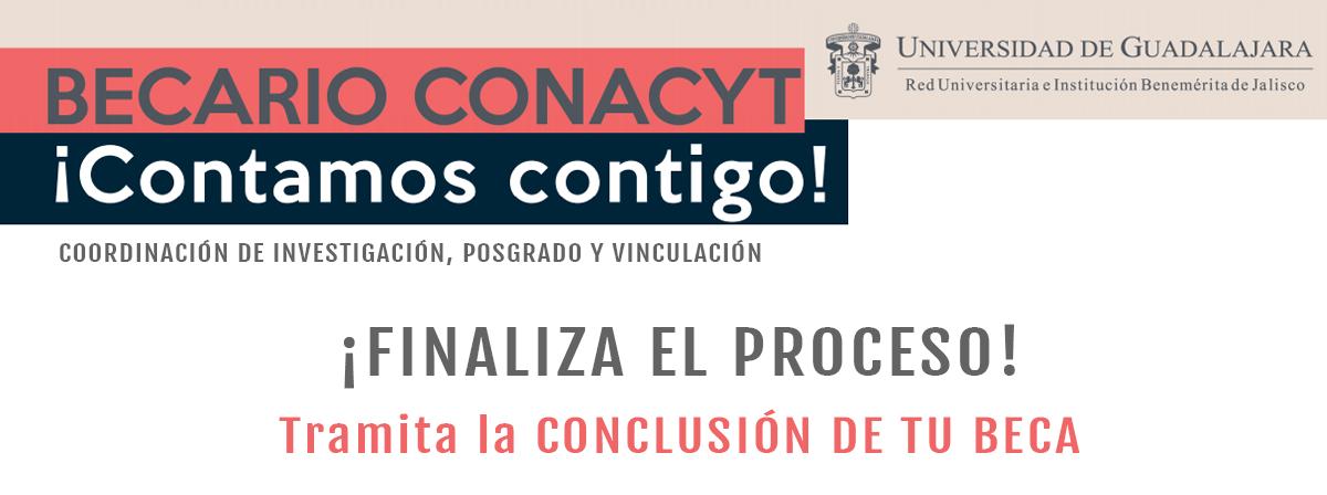 Becario CONACYT - Tramita la conclusión de tu beca