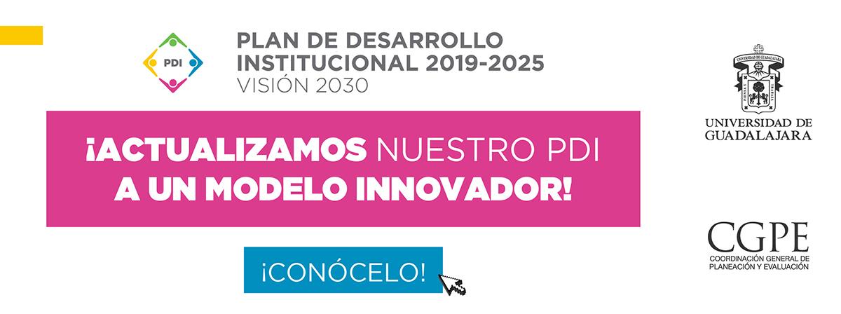 Banner Plan de desarrollo Institucional 2019-2020