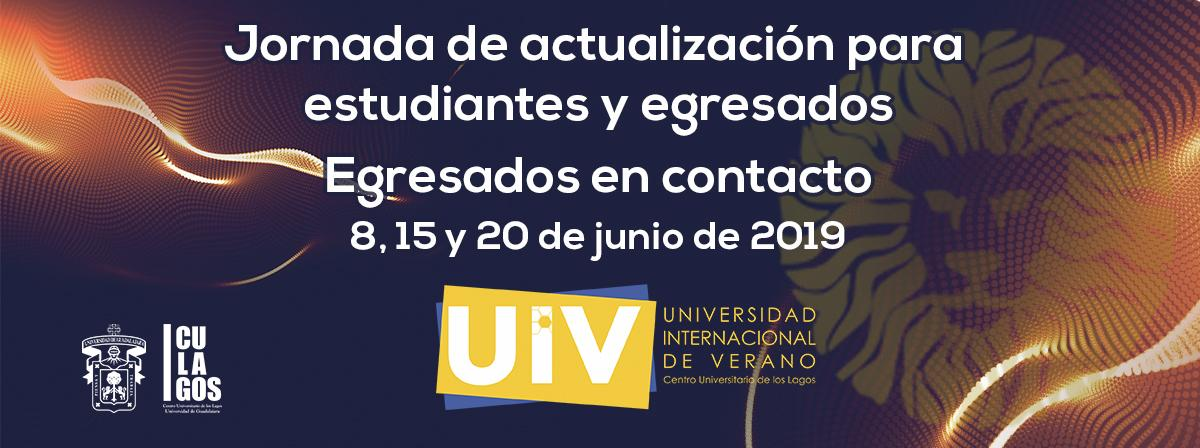 Jornada de actualización para estudiantes y egresados UIV 2019