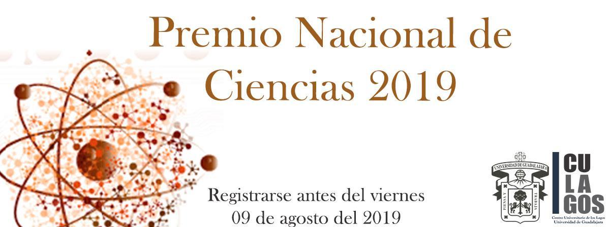 Premio Nacional de Ciencias 2019