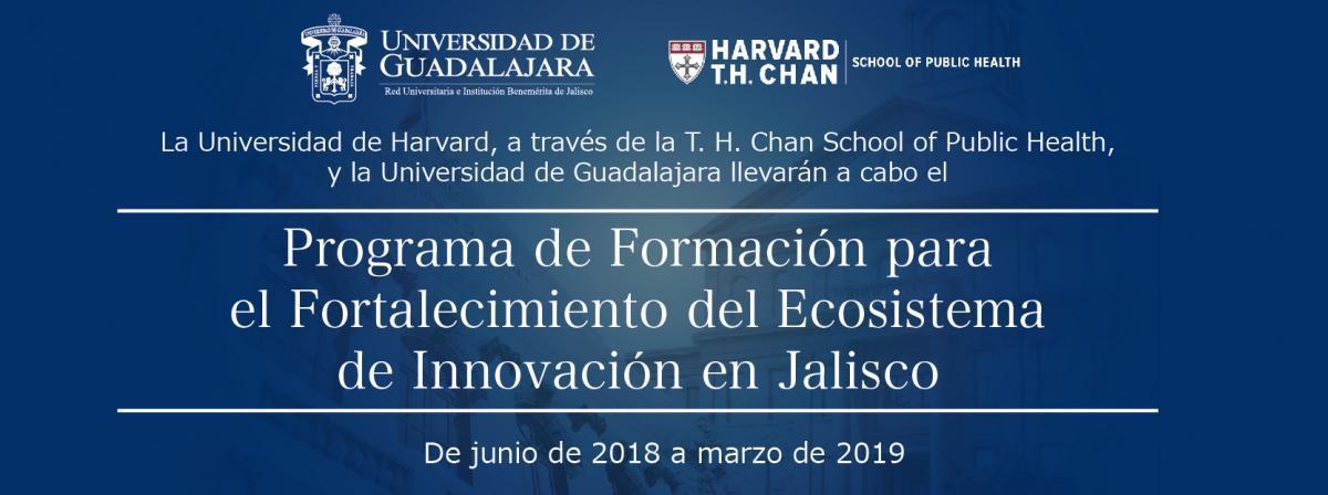 Programa de Formación para el Fortalecimiento del Ecosistema de innovación en Jalisco