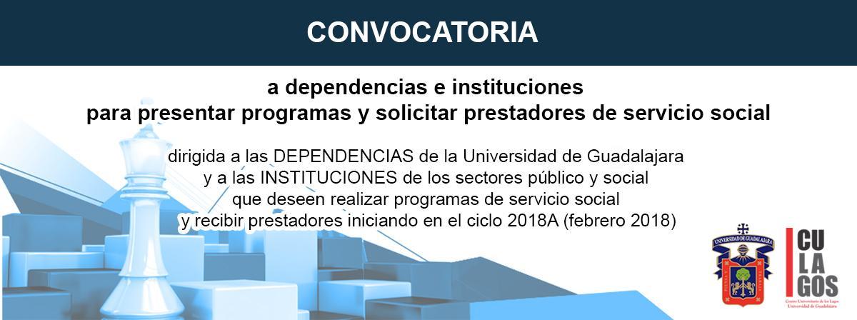 Banner de Información sobre Servicio Social Empresas 2018A