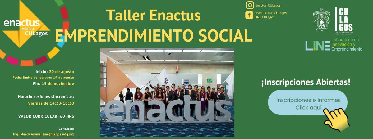 Banner Taller ENACTUS