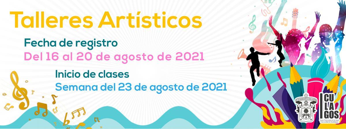 Banner Talleres artísticos 2021A
