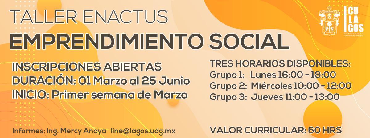 Banner Emprendimiento social