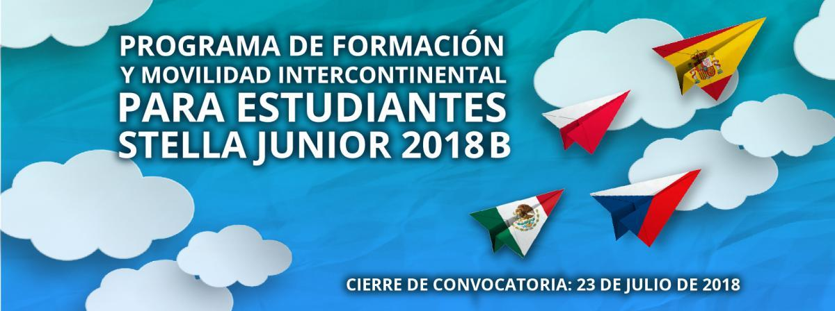 Segunda convocatoria del Programa de formación y movilidad intercontinental para estudiantes STELLA Junior 2018