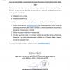 Aviso para las entidades receptoras de prácticas profesionales del Centro Universitario de los Lagos